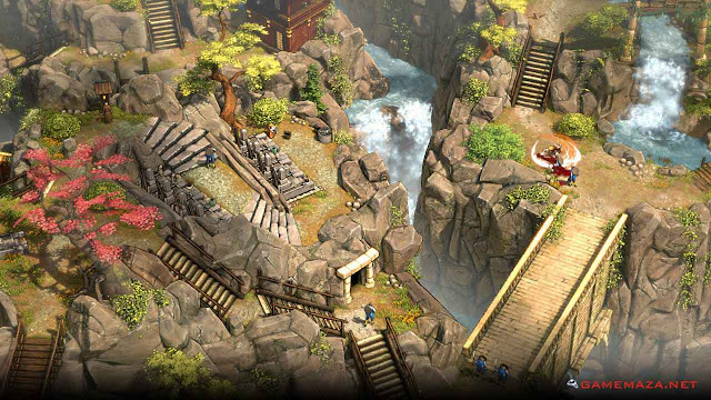 Shadow Tactics Blades of the Shogun Gameplay Screenshot 3