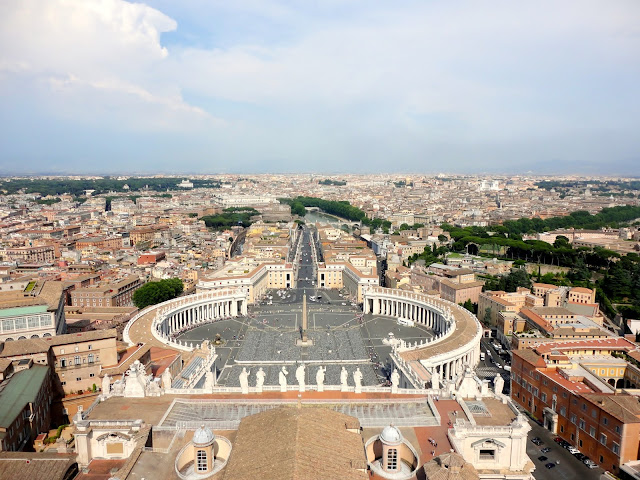 View from the Cupola of St Peter's Basilica, Vatican City State | Rome, Italy