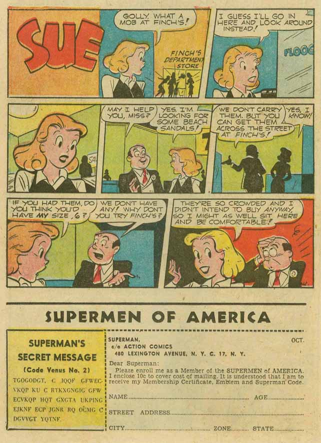 Read online Action Comics (1938) comic -  Issue #173 - 26