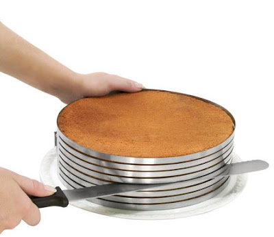 Cake Slicingmould with Baker´s Knife