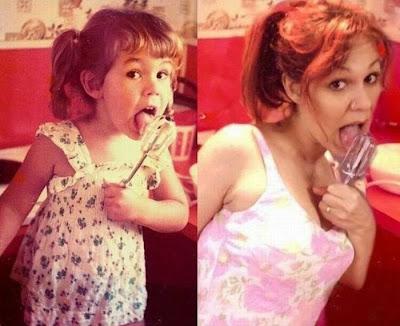 Fotografias de antes y actuales