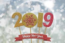 Happy New Year 2019 Hindi Shayari SMS Wishes For whatsapp , Facebook