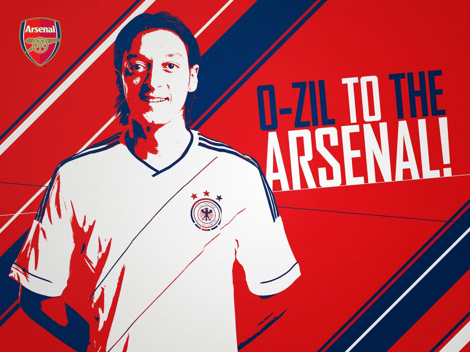 Mesut Ozil Arsenal 2014 The Gunner HD Desktop Wallpaper