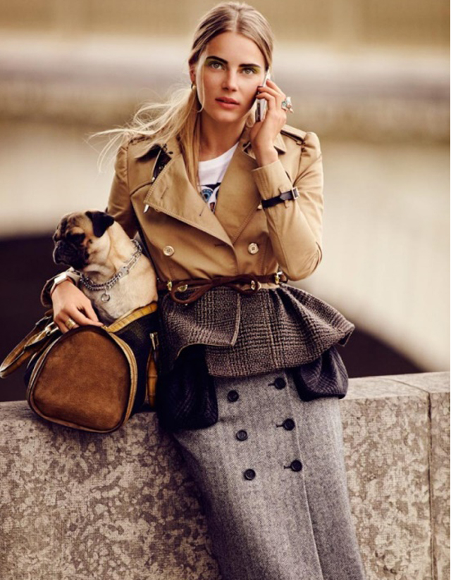 trench + tweed