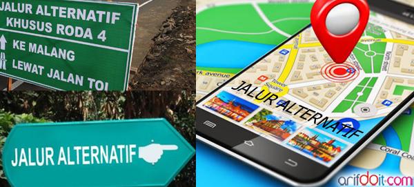 Sosialisasi App GIS untuk jalan alternatif