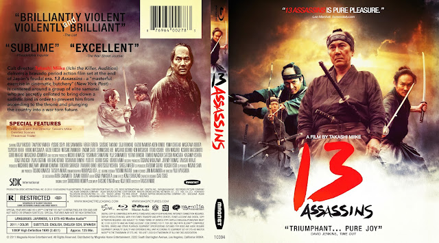13 Assassins (Jûsan-nin no shikaku) Bluray Cover