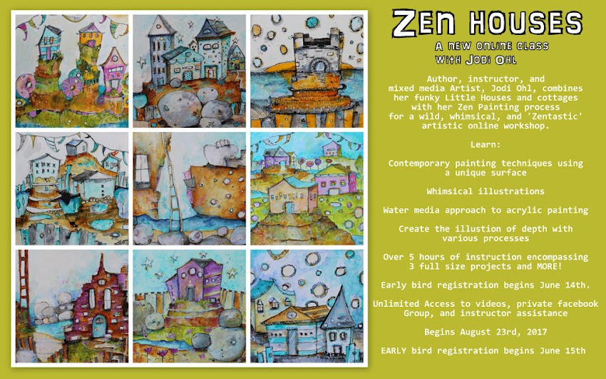 Pre-Register for my Upcoming Class: Zen Housess