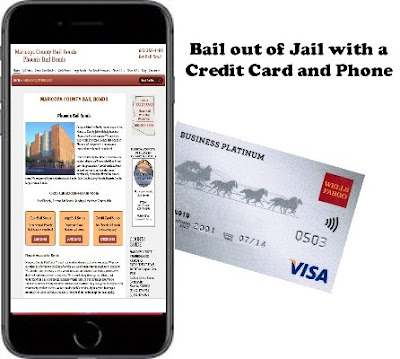 Bail out of Jail with a credit card