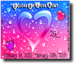 Colour of Love Hunt ( click Image to TP)