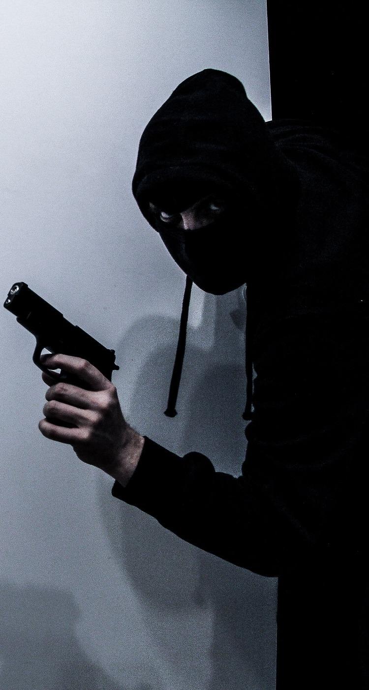 Picture of a terrorist.