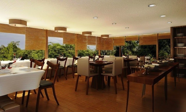 06-Restaurant-Aqua-Expeditions-Five-Star-Hotel-Aria-Amazon-Floating-Architecture-www-designstack-co