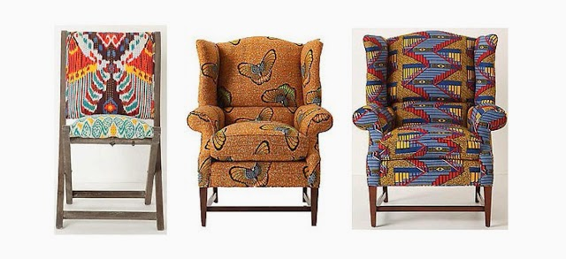 Below Are A Few Examples Of How African Print Can Be Used In The Home