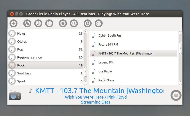 Great Little Radio Player`: Simplistic Internet Radio Player