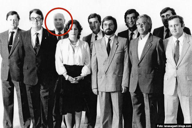 José María Bañales, en la candidatura del PNV al Congreso en 1982