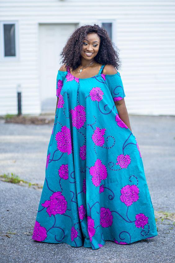 20 Best Kitenge Design For Breastfeeding Mothers And Pregnant Women