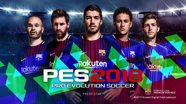 PES 2018   تحميل Download  لعبة بيس 2018 مجانا PES 2018 بالتعليق العربى
