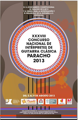 In Paracho the National Guitarre Fair