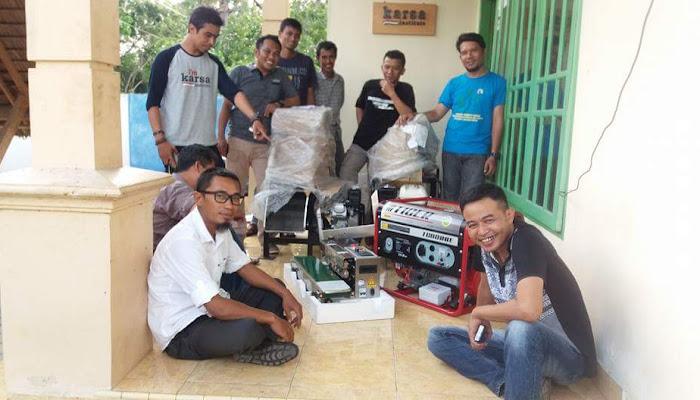 Bantuan Mesin Pengolah Kopi