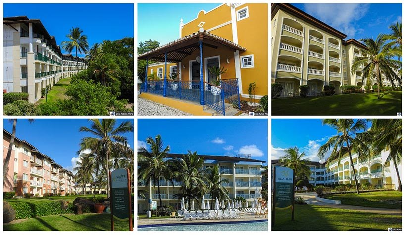 Complexo Costa do Sauípe - resort all inclusive na Bahia
