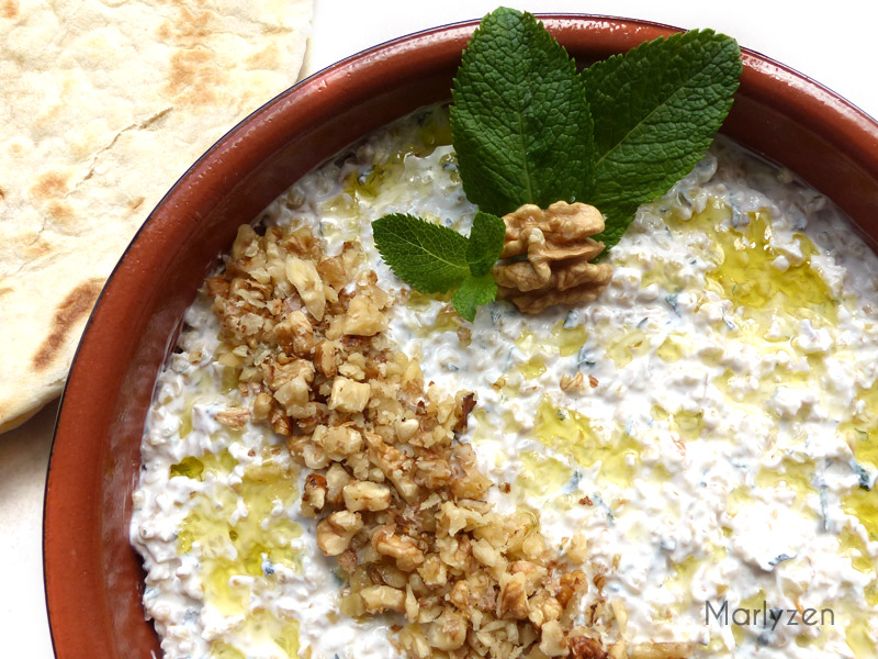 Keshke : boulgour au yaourt et à la menthe
