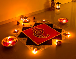 Happy Diwali Rangoli HD Photos