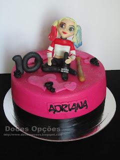 A Arlequina no 10º aniversário da Adriana