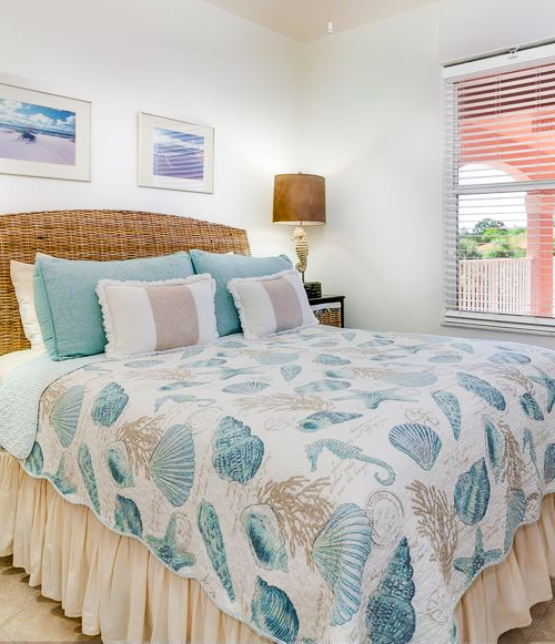 Coastal Designer Bedrooms with Coastal Beach Nautical Bedding Ideas