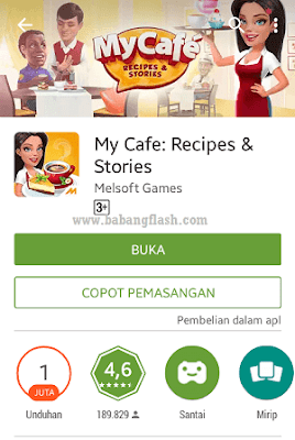 Artikel tentang review game android terbaik..2015..offline..gratis..hd..game online android terbaru..game android simulasi kehidupan..my cafe story..game mobile