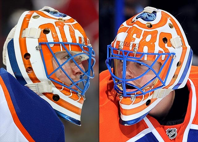 I Love Goalies!: Ben Scrivens 2013-14 Mask