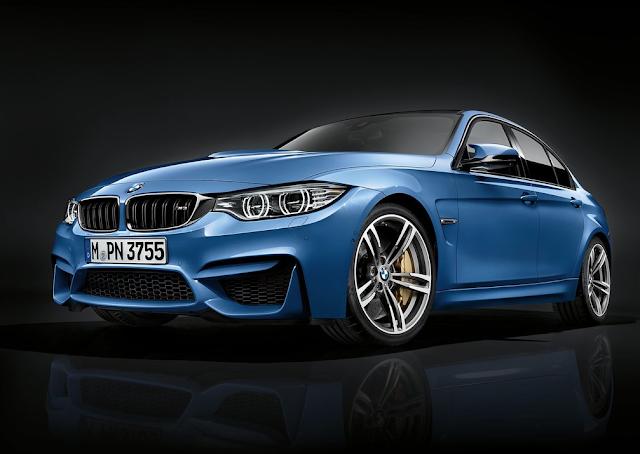 2016 BMW M3 sedan blue