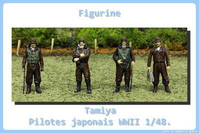 Figurine de Pilote japonais WWII