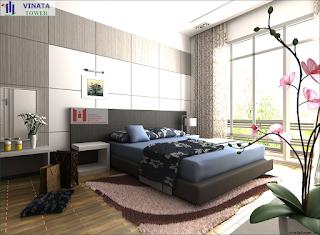 Phòng ngủ chung cư Vinata