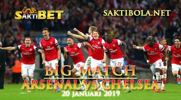 Prediksi Sakti Taruhan bola Arsenal vs Chelsea 20 JANUARI 2019