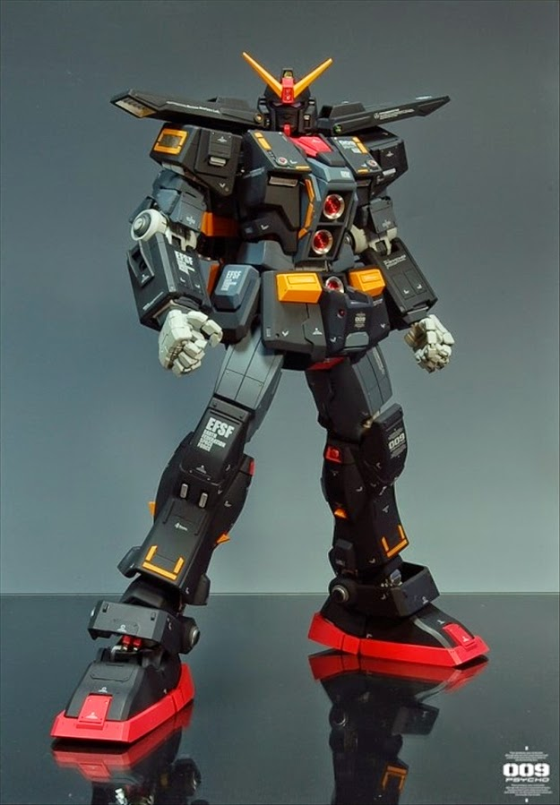 "144 Best Images About Spa Decor On Pinterest: Custom Build: HGUC 1/144 MRX-009 Psycho Gundam ""Real Grade"
