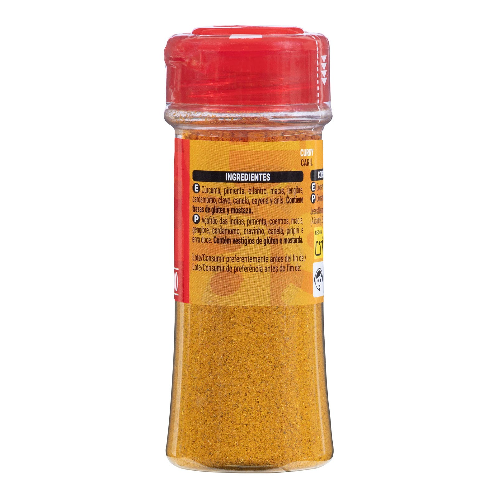 Curry en polvo Hacendado