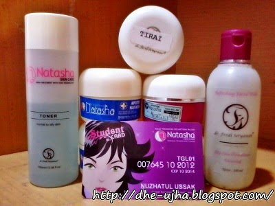 Student card Natasha Skin Care