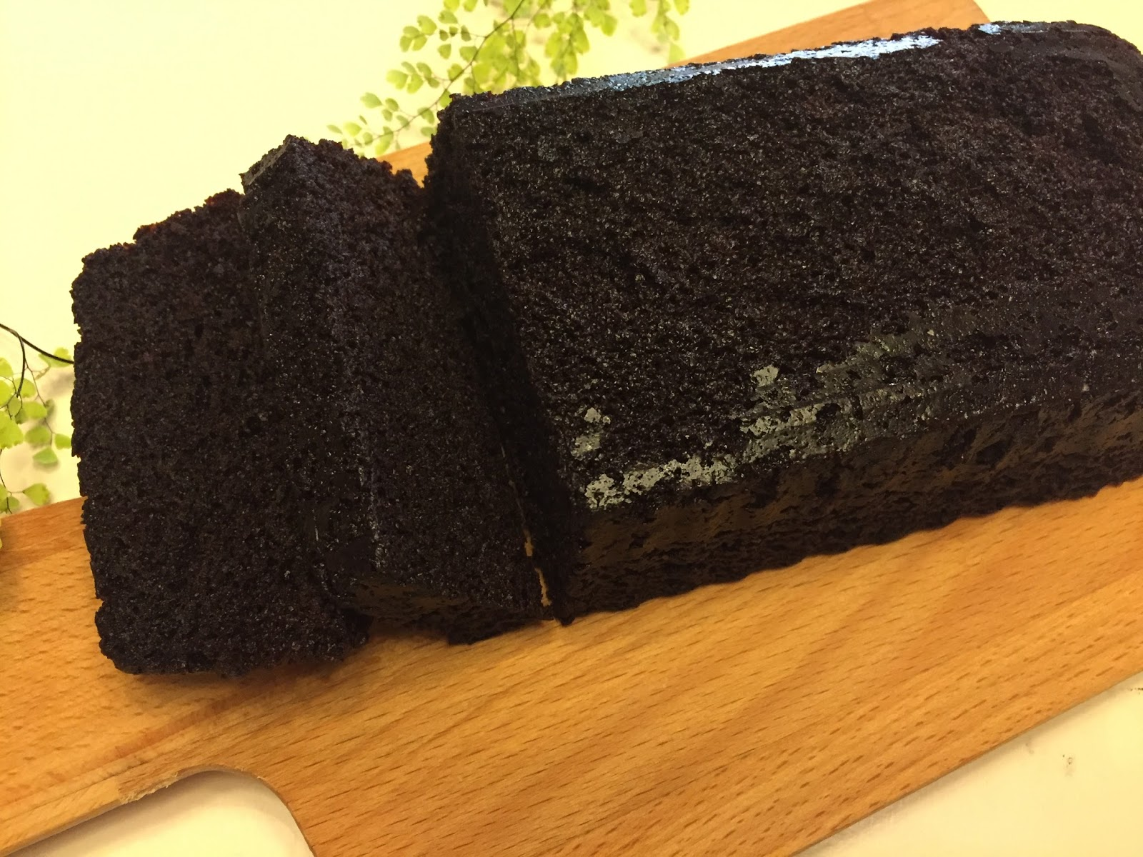 kek coklat moist kukus