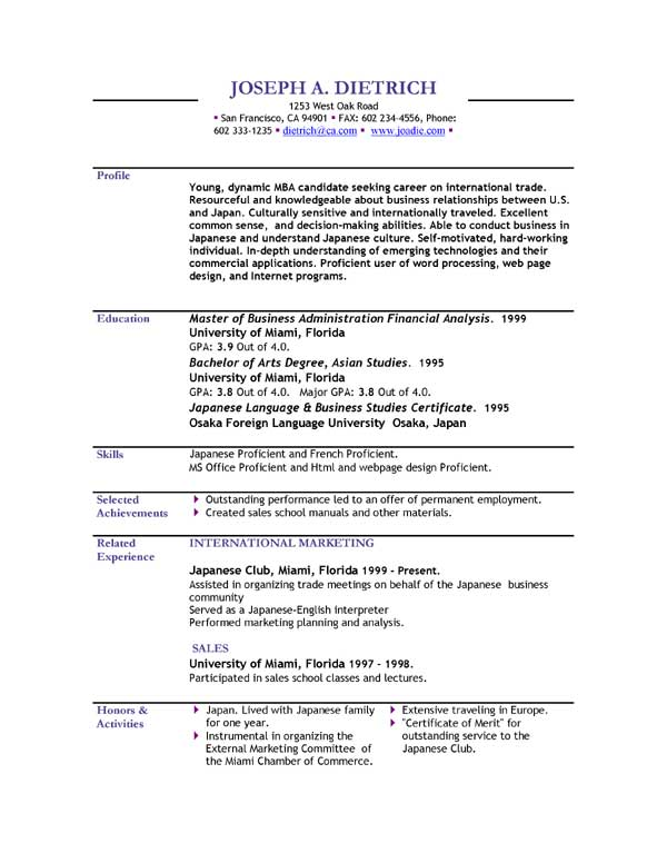 Google Resume Maker | Resume Format And Resume Maker
