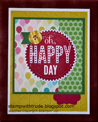 greeting card, Stamp with Trude, Stampin' Up!