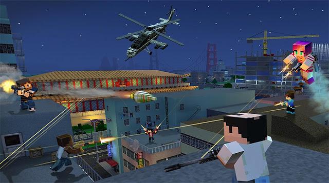 Block City Wars v5.1.4 Apk + Datos SD Mod [Dinero]