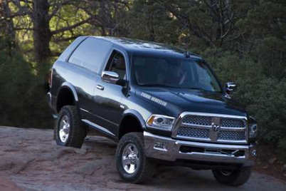 2017 Dodge Ramcharger Concept