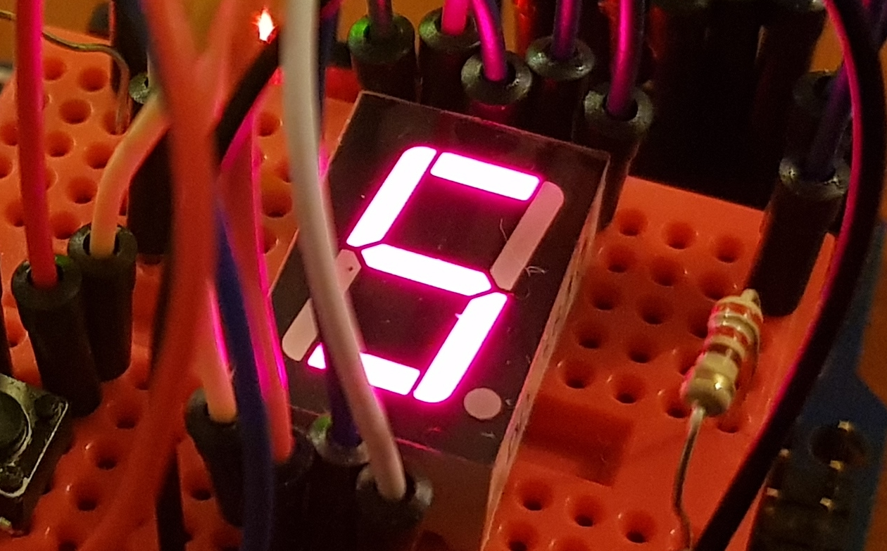 Ciencias - Robotica basada en Arduino: 7 segment display