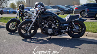 Yamaha VMax Harley Davidson Sportster Forty-Eight
