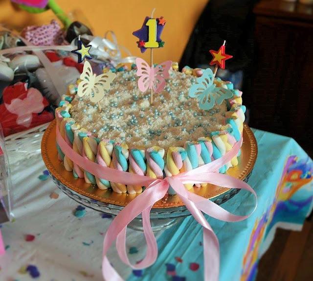 tarta fiesta bebe