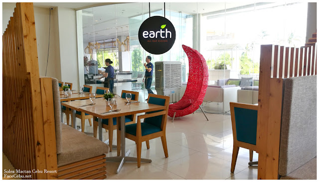 Earth Restaurant in Solea Mactan Cebu Resort