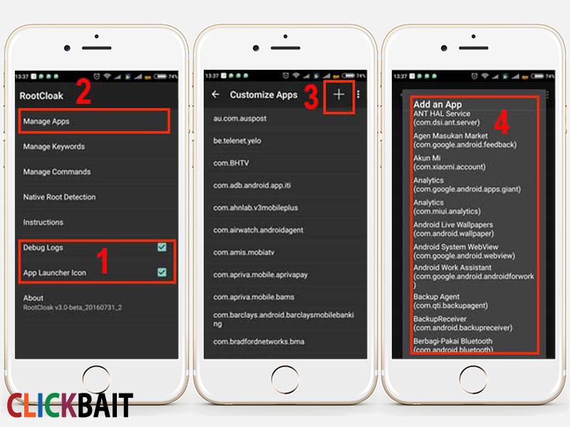 Cara Menyembunyikan Root Akses Di Android Clickbait