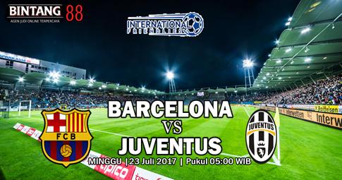 PREDIKSI SKOR Barcelona vs Juventus   23 JULI 2017