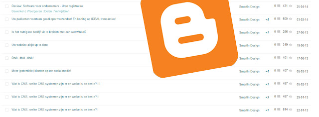 Blogs op blogger