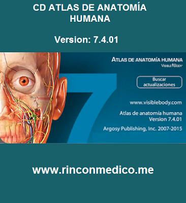 Atlas de Anatomía Humana para PC [Español] | Rincón Médico