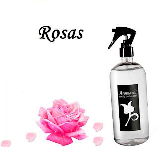 Perfume para la ropa Rosas